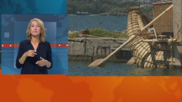 От Варна тръгва международната експедиция с тръстиков кораб
