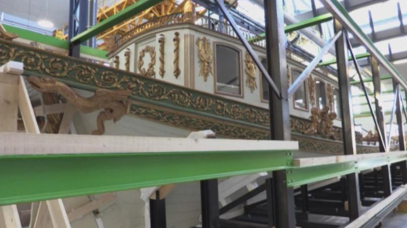 Императорско кану на Наполеон беше върнато в пристанището на Брест,