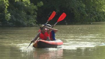 Успешно приключи пътешествието с надуваема лодка по река Камчия