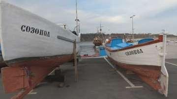 Протест на рибари в Черноморец