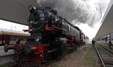 снимка 1 Най-мощният парен локомотив в Европа тръгва към Черепиш