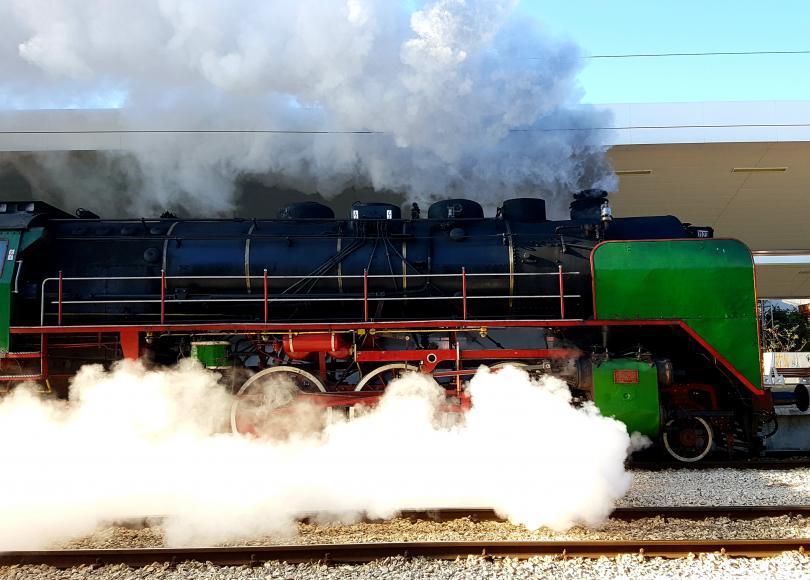 снимка 3 БДЖ организира празнично пътуване с ретро влак за Деня на независимостта