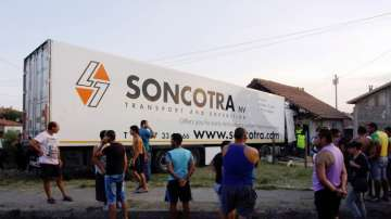 Жители на Лом блокираха пътя към Дунав мост 2