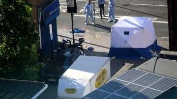 Арестуван е нападателят, който се вряза в пешеходци край джамия в Лондон