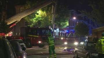 Пожар избухна в жилищен блок в Лондон