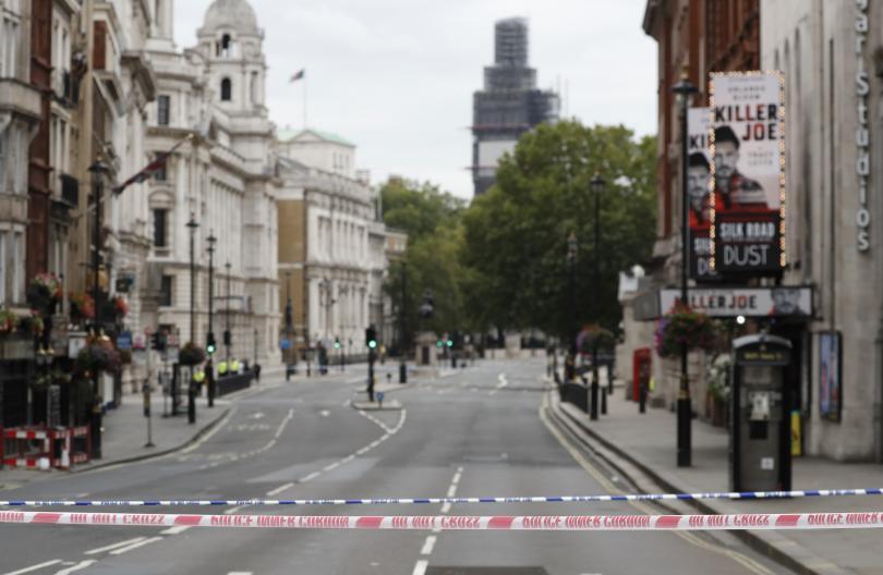 полицията разглежда инцидента лондон терористичен акт