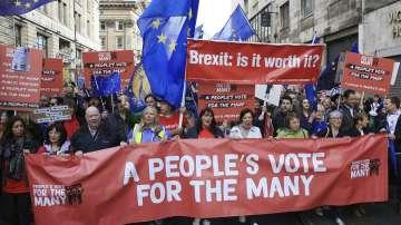 Граждани призоваха за нов референдум за Брекзит във Великобритания