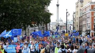 Протест срещу Брекзит се проведе в Лондон