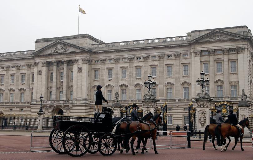 повод притеснение бъкингамския дворец
