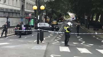 Идентифицираха нападателя, който се блъсна в заграждения на британския парламент
