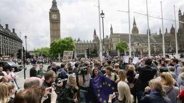 В Лондон излизат на пореден протест срещу Брекзит