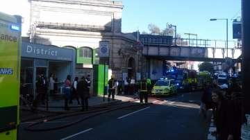 Експлозия в лондонското метро (СНИМКИ / ВИДЕО)