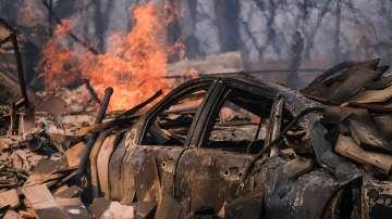 Разраства се пожарът край Лос Анджелис