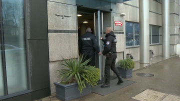 Полицията провежда акция в сградата на Националната лотария в София