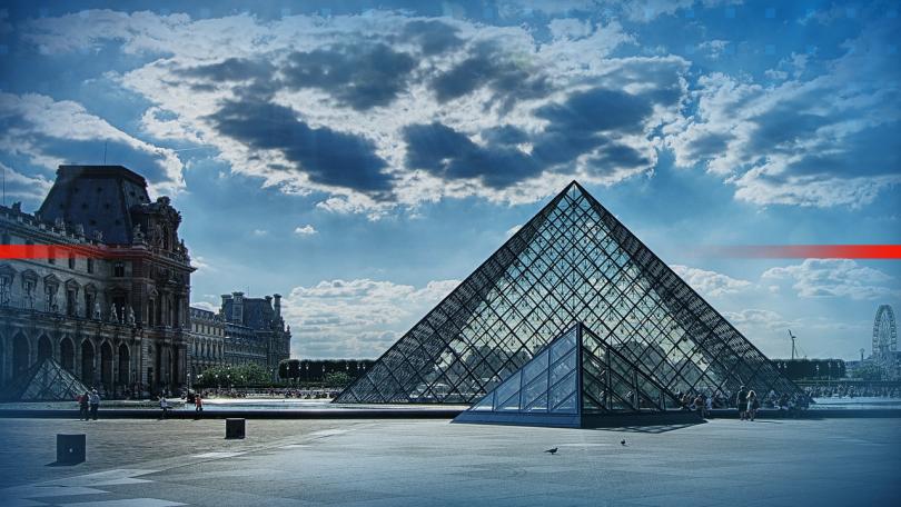 На 102-годишна възраст почина архитектът на стъклената пирамида пред Лувъра.