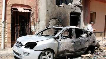 Нови атаки край Триполи
