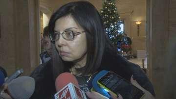 Меглена Кунева: Реформаторският блок няма да обърне гръб на мандата