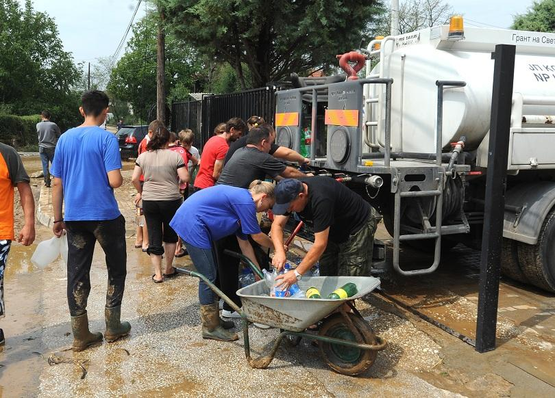 От нашия пратеник в Скопие: Ситуацията е бедствена