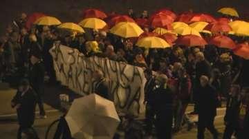 Поредна нощ на демонстрации в Скопие