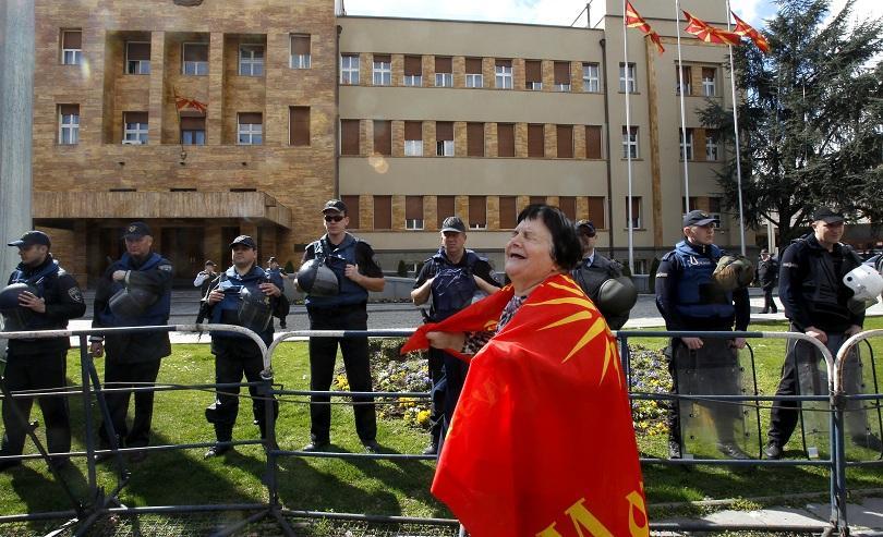 Законът за употреба на езиците, който бе гласуван в македонския