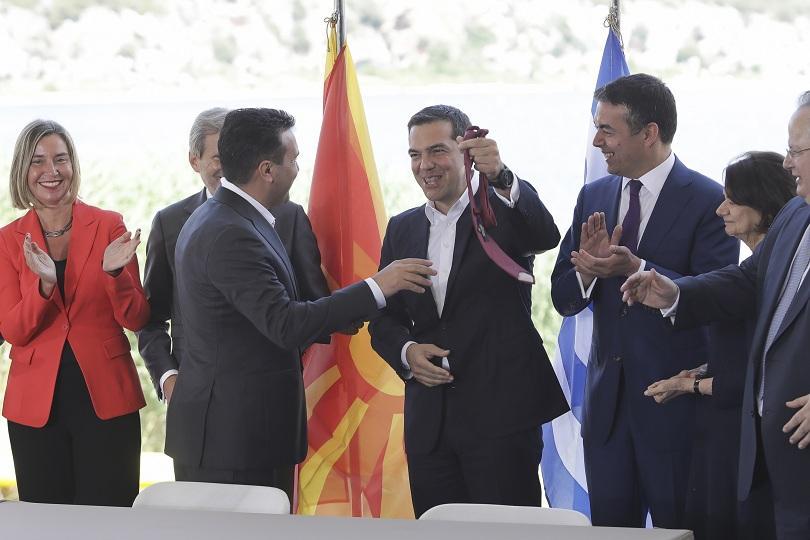Край на спора между Атина и Скопие за името на Македония