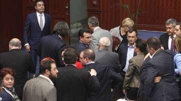 Македонският парламент с първа крачка към приемане на новото име