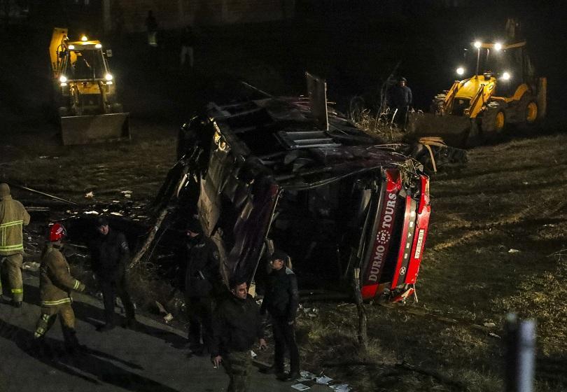 Автобусната катастрофа в Македония взе още една жертва