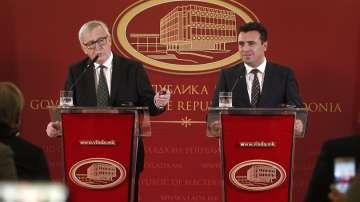 Жан-Клод Юнкер: Македония е на верния път