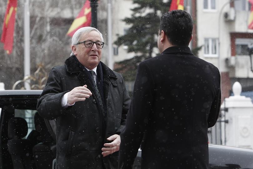 Юнкер: До няколко месеца Република Македония може да получи препоръка от ЕК