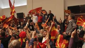 За заедничка Македония обяви апел за събиране пред Събранието
