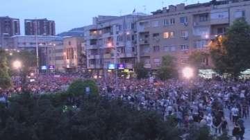Отново протести в Македония