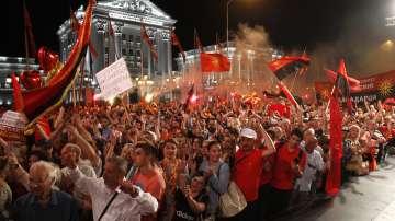 Протести в Скопие с искане за предсрочни избори