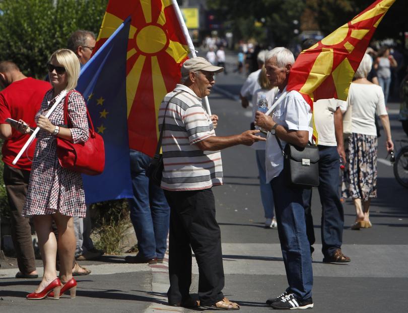 Опозиционната в Македония ВМРО-ДПМНЕ ще уважи резултата от референдума за