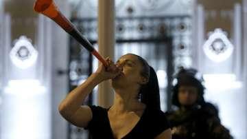 Не стихват протестите в Македония срещу амнистията на политици