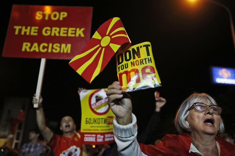 Председателят на ВМРО-ДПМНЕ Християн Мицкоски бойкотира днешния референдум. От партията