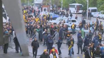 40 задържани след дербито Ботев Пловдив - Локомотив Пловдив