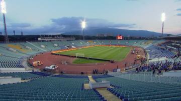 Напрежение и засилени мерки за сигурност преди мача България - Англия