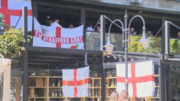 Засилени мерки за сигурност заради футболния мач България - Англия