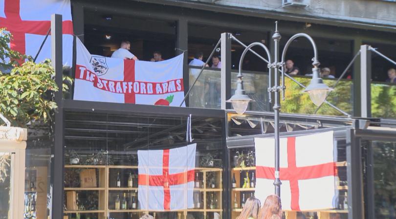 Напрежение преди футболния мач между България и Англия. Полицията предприема