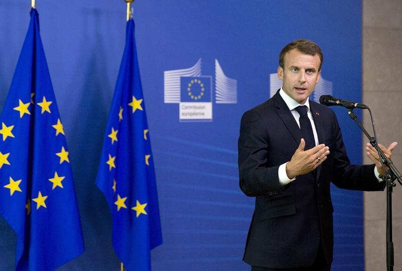 Френският президент Еманюел Макрон заяви днес, преди минисрещата на върха