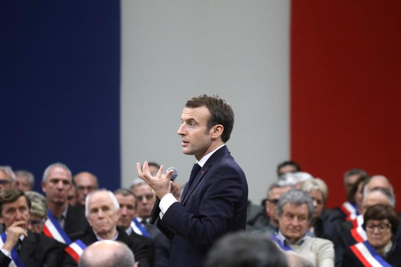 Френският президент Еманюел Макрон проведе днес втора среща от националния
