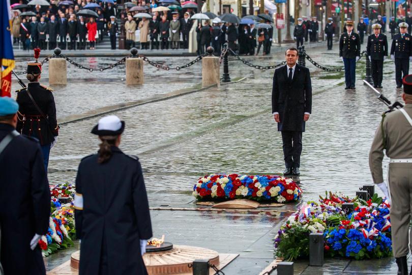 снимка 1 Франция отбелязва 74 години от победата над Нацистка Германия