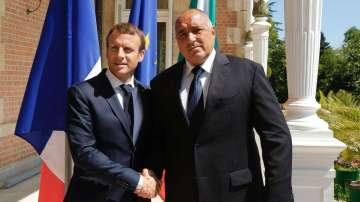 Основни акценти от посещението на президента Макрон в България