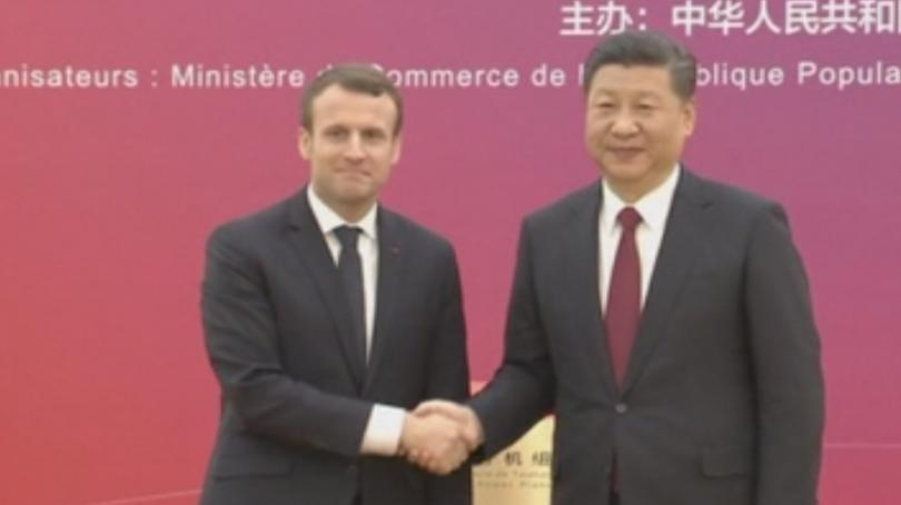 Новината дойде в края на тридневното държавно посещение на френския