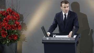 Историческа реч на френския президент Еманюел Макрон в Берлин