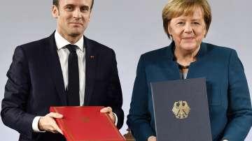 Меркел и Макрон подписаха френско-германски договор за приятелство