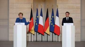 Макрон и Меркел призоваха за прекратяване на турската офанзива в Сирия