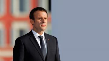 Френският президент Еманюел Макрон на официална визита в Русия