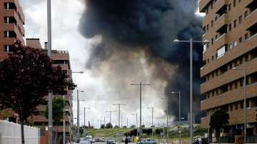 Хиляди бяха евакуирани заради огромния пожар край Мадрид