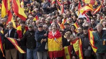 Хиляден протест в Мадрид в защита на националното единство